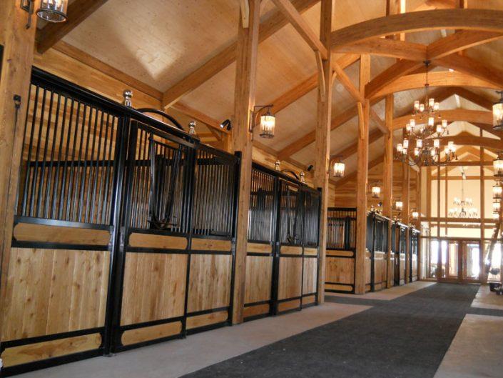 Réalisations d'architecture agricole & d'installations équestres